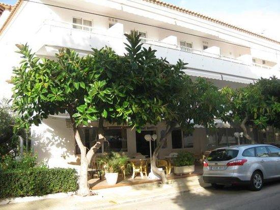 Hotel Villa Singala: Villa Singala showing breakfast terrace