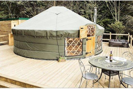 Uppergate Farm: Rowan Yurt