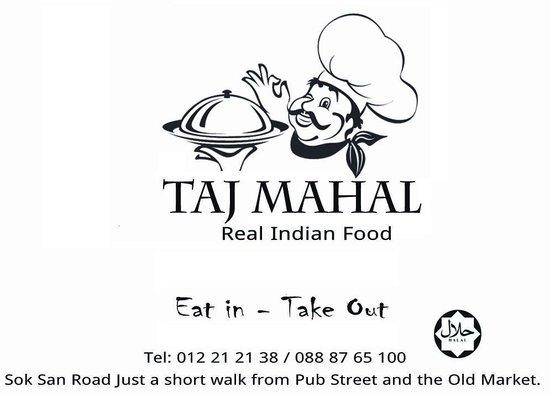 Taj Mahal Restaurant : Indian Pakistani Restaurant  Halal Siem Reap Cambodia