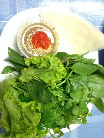 Saigon Rim Sai : fresh vegetable