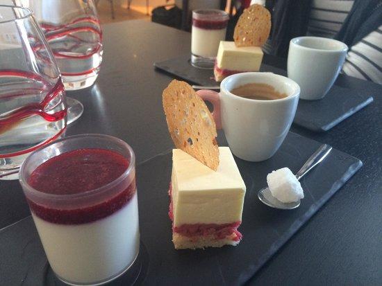 L'O à la Bouche : Dessert d'une formule du midi plutôt sympa ..