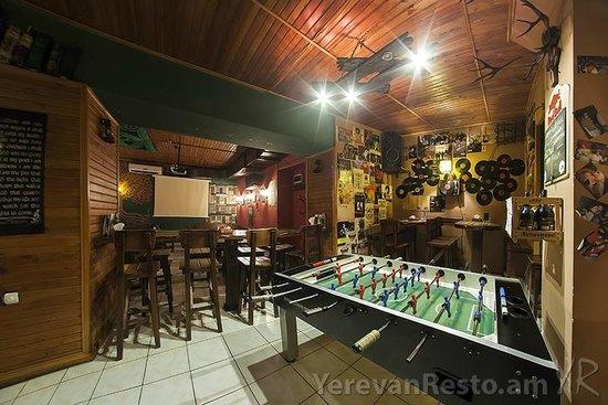 26 Irish Pub: Foosball corner