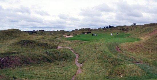 Whistling Straits Golf Course - Straits and Irish : Straits # 14 Widow's Walk