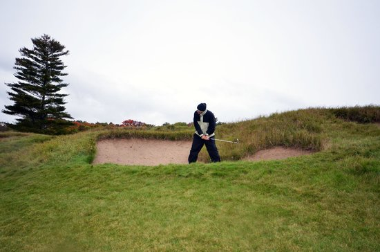 Whistling Straits Golf Course - Straits and Irish : In the Johnson Bunker