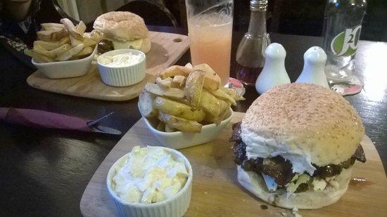 The Cock Inn: Monday Burger Night