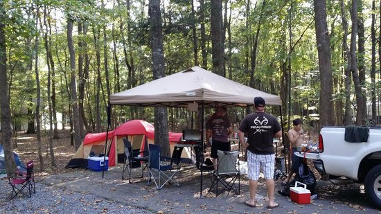 Lake Wateree State Park: Camp Site 30