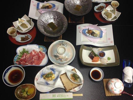 Hotel Grand Toya: Kaiseki Dinner
