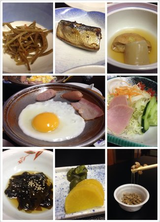 Hotel Grand Toya: Breakfast the next morning