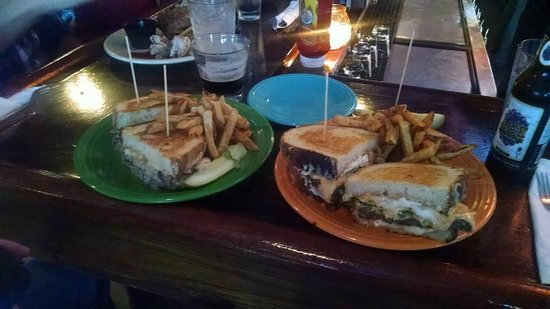 "Melt Bar and Grilled: On the right is ""The Good Burger"""