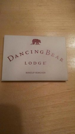 Dancing Bear Lodge: Amazing alternative to washing your face with hotel soap that ALWAYS burns your eyes