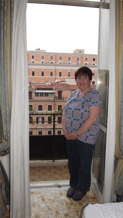 Hotel Miami: Lovely balcony 5th floor room