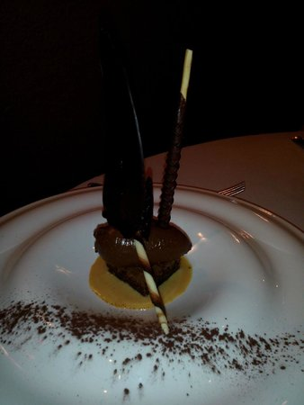 L'Ecusson Restaurant : chocolat noir