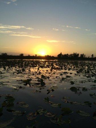 Horizontes Villa Guama: Incredible sunrise