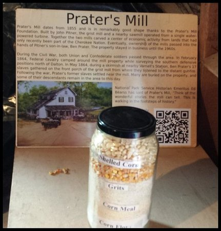 ‪‪Prater's Mill‬: History of Gristmill‬