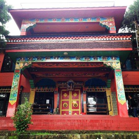 Tushita Meditation Centre : The Main Gompa