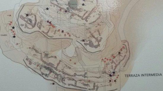 Galera, Espanha: Yacimiento de Castellón Alto donde se señala el sitio exacto donde encontraron las momias.