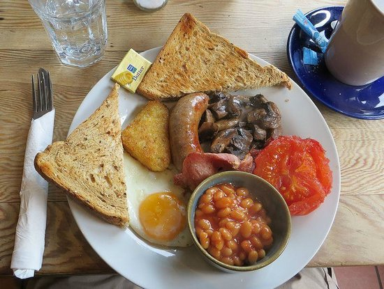 A well presented breakfast