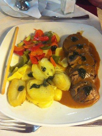 Sorrento di Italia : Lamb shoulder was succulent