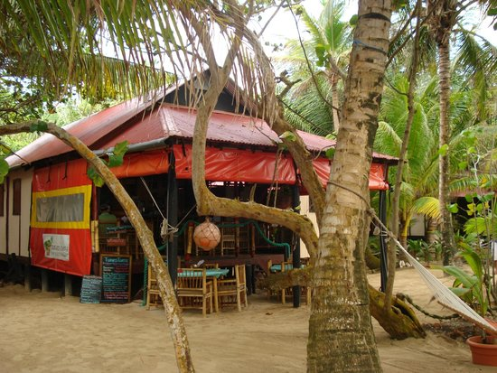 Little Corn Beach And Bungalow The Turned Turtle Bar Restaurant