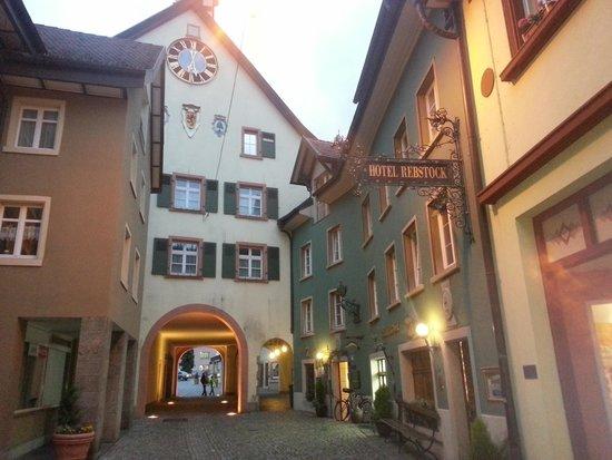 Hotel Rebstock Laufenburg: laufenburg old town - like a fairy tale!