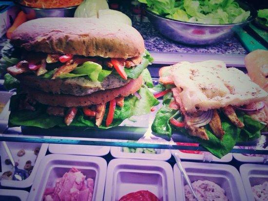 Lola & Livvy's: Lovely Focaccia Sandwich