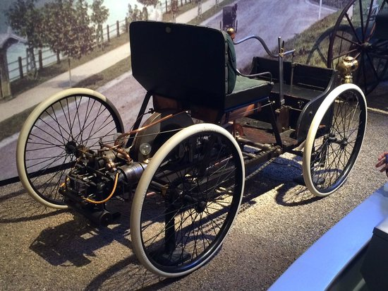 The Henry Ford Fords First Car Quadricycle Built In 1896