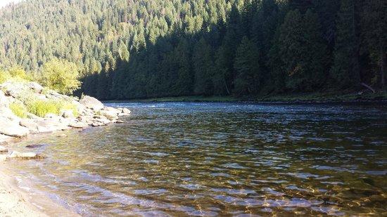 River Dance Lodge: My beach!