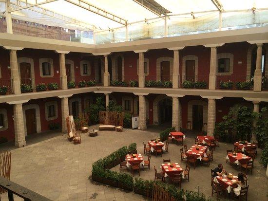 Boutique Hotel de Cortes : Parte Interna del Hotel