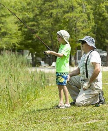 Clermont, NJ: Lake Fishing
