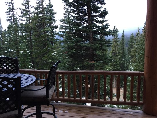 The Silver Lake Lodge: From the back deck