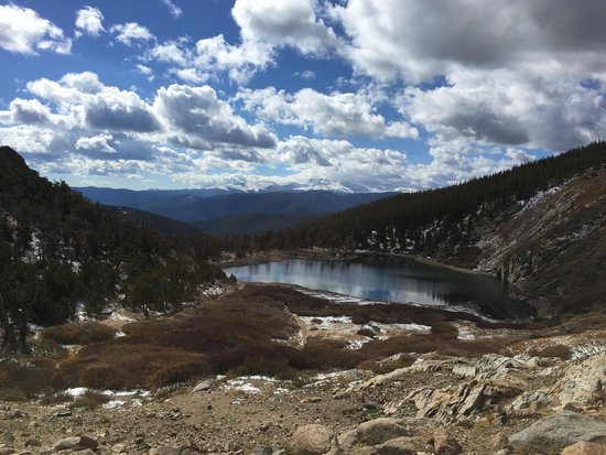 The Silver Lake Lodge: On the hike up to St. Mary's Glacier