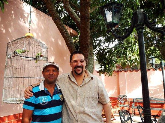 Hostal Buena Vista: The Lovely Outdoor Patio
