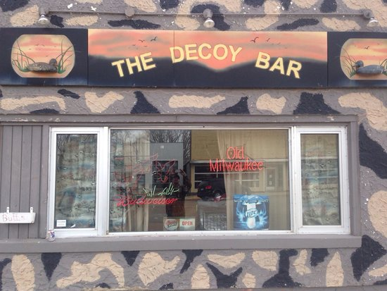 When in Medina you have to check out the Decoy Bar!