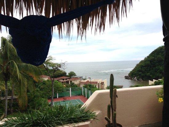 Agua Azul La Villa : Noon view from the room
