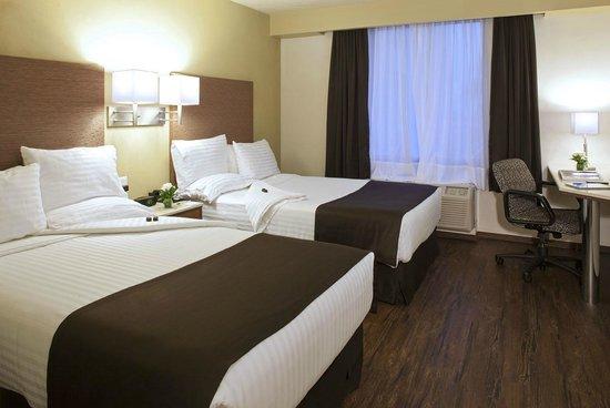 Holiday Inn Orizaba: Habitación Con Dos Camas Matrimoniales