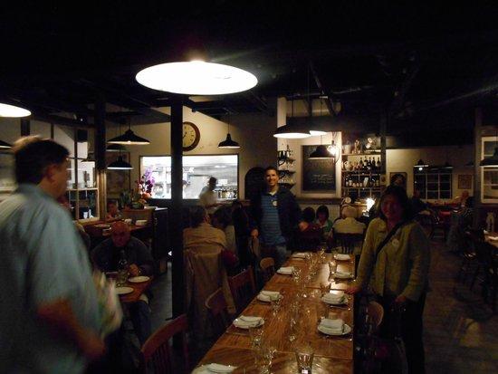 il vecchio: Inside the restaurant