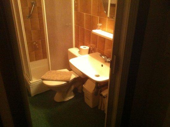 Hotel Lehouck: La salle de bain (petite mais très propre)