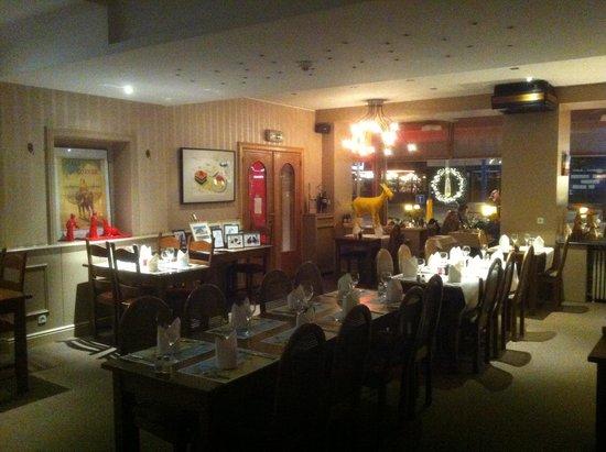 Hotel Lehouck: Le restaurant et salle de petit déjeuner
