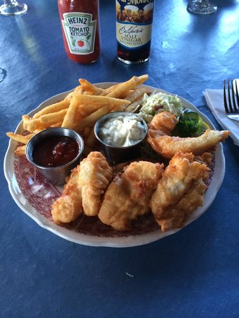 The Wheelhouse & Crowsnest: seafood plate