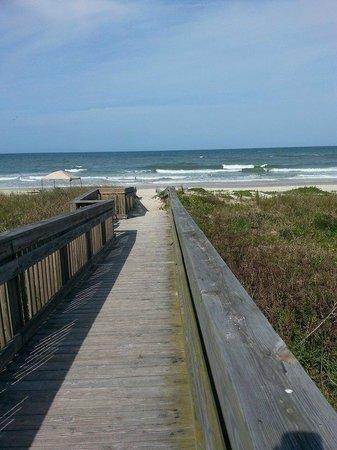 Sun Deck Motel: Boardwalk