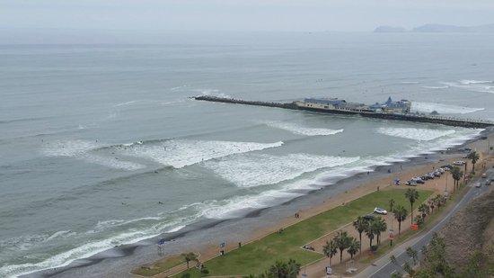 Arawi Lima Miraflores Hotel: Vista do Pacífico