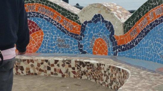 Arawi Lima Miraflores Hotel: Praça do Amor