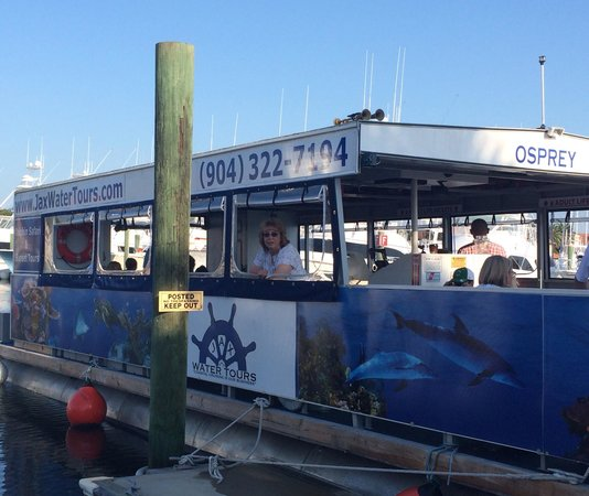 Jax Water Tours : Getting ready to set sail!!