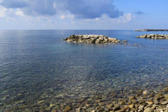 Residence Tre Palme : Super sauberes Wasser
