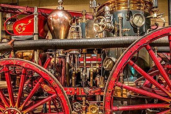 Fire Museum of Maryland: Sparkle and shine.