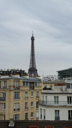 Adagio Access Paris Tour Eiffel Saint Charles: Room 602 view