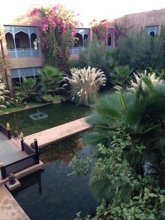 Sahara Palace Marrakech : view walking to my room