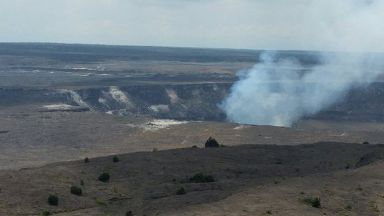 Kilauea Volcano: Seeing the Volcano was one of the most exciting experiences of my life. To think that this is an