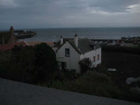 The Bank - Anstruther: view fro hotel window