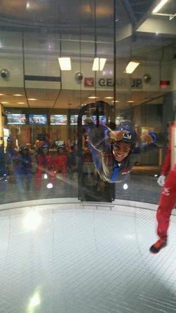 iFLY Indoor Skydiving : Birthday girl!